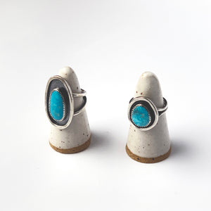 Turquoise Shadow Box Ring