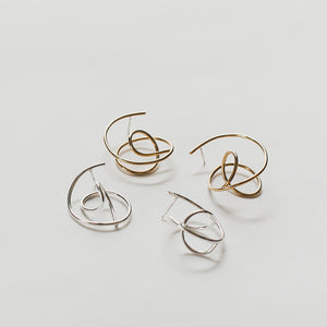3D Tangle Earrings by Knuckle Kiss