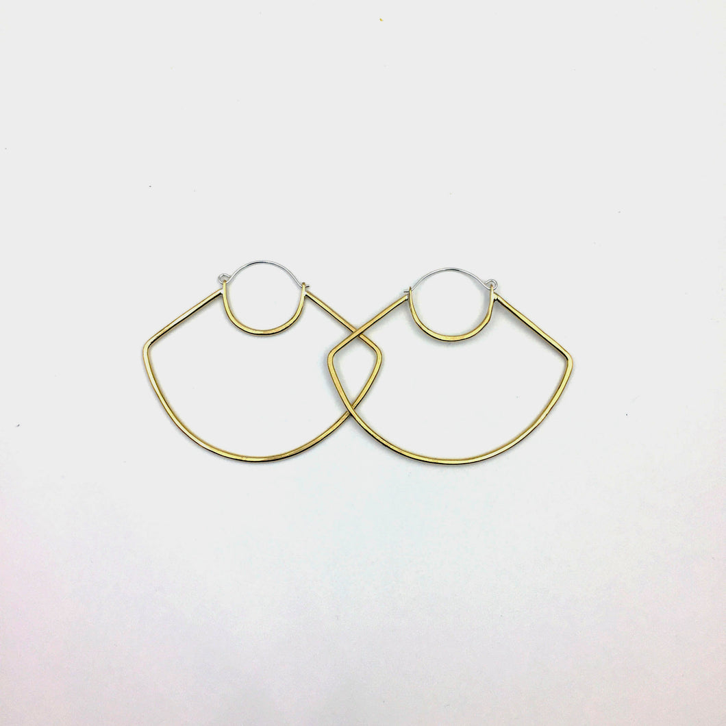 UFO Hoop Earrings