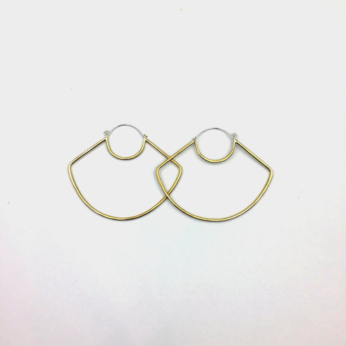 UFO Hoop Earrings (WHSL)