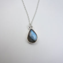Labradorite Teardrop Necklace