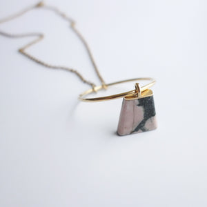 Rhodonite Connie Necklace
