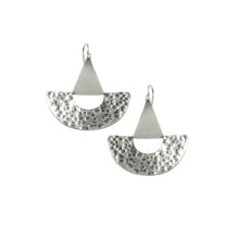 Knuckle Kiss Sterling Silver Buoy Statement Earrings