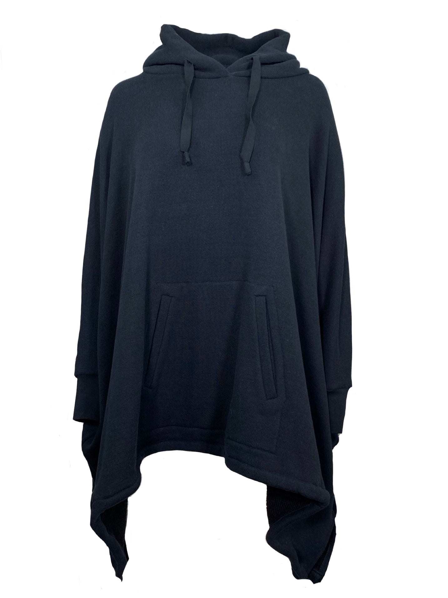 HOODY PONCHO TOP  / C/W SOFT TERRY - C3 (4694583377999)