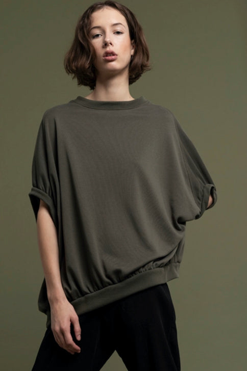 WIDE SWEAT SLEEVELESS / ECO POLYPRODUCT- C2