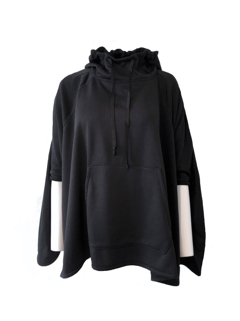 MEGA HOODY PULL OVER / ECO POLYPRODUCT - C2