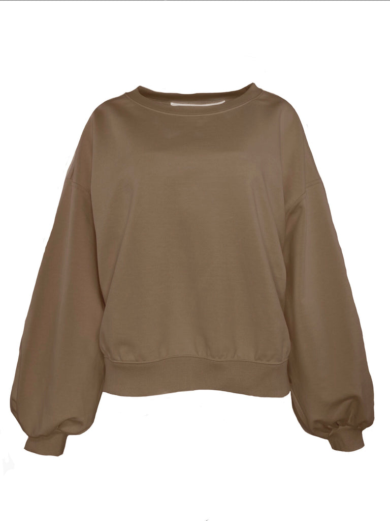 PUFF SLV SWEAT / FRENCH TERRY - C3 (4694583214159)