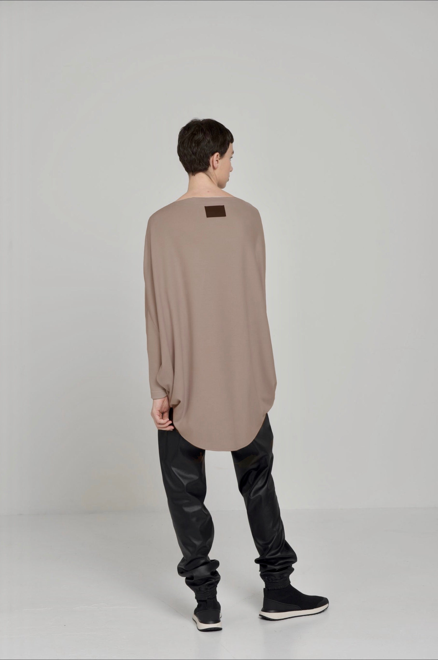 LUNA TOP LONG SLEEVE / DIAMOND LUMINARY WOOL - C3 (4694583705679)