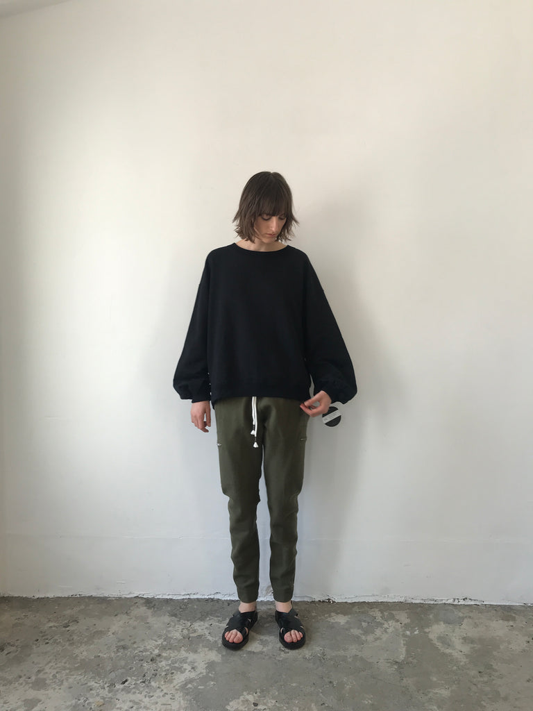 PUFF SLV SWEAT / VINTAGE TERRY - C2