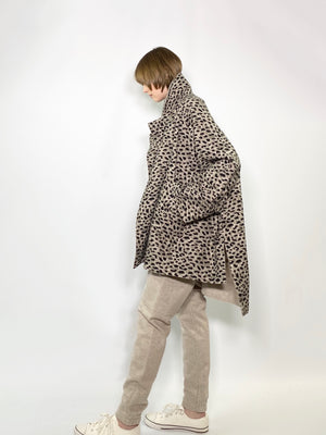 SQUARE COAT LEOPARD / LEOPAED on GEELONG INLAY - C3 (4694584524879)