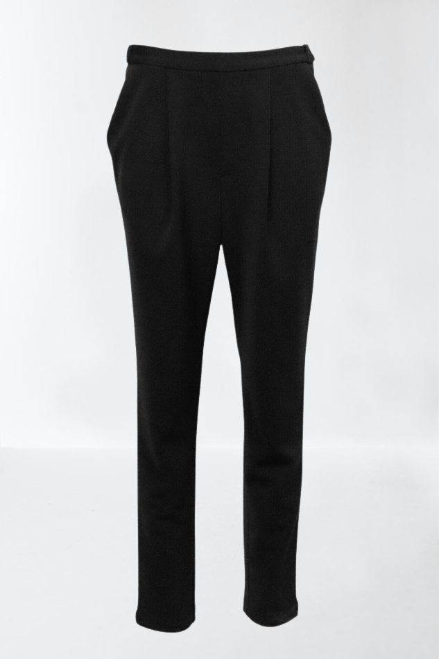 TUCK TAPERED TROUSERS / KERSEY JERSEY - C4 (4859370209359)