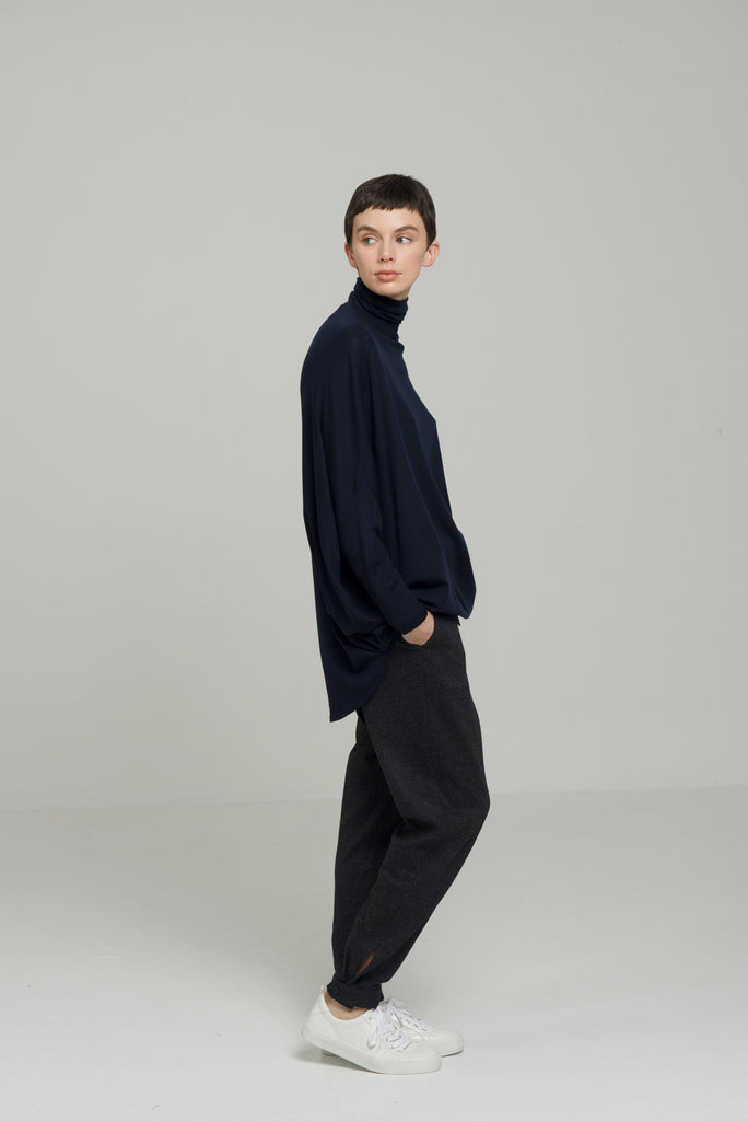 LUNA H/N LONG SLEEVE / WASHABLE MERINO JERSEY - C3 (4694583509071)