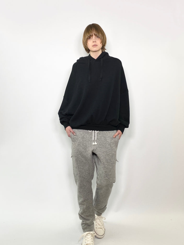 WIDE SWEAT PARKA / C/W SOFT TERRY - C3 (4694583410767)
