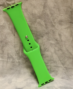 Neon Green Silicone Watch Band
