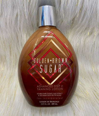 Golden Brown Sugar 2 Step Tanning Lotion