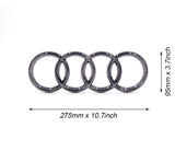 Audi Led Badge Emblem Logo Front Grill Illuminated Glow Light Black chrome