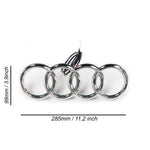 Audi Led Emblem Logo Front Grill Illuminated Glow Light Badge White Q5 Q3 Q2 A6 A7 A8