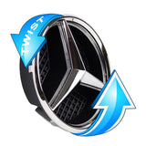 Mercedes benz Emblem Led White Light Car Star Logo Badge Front Grill Glow (Silver 2011-2019)