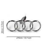 Audi Emblem Led Bluetooth Badge Logo Front Grill Illuminated Glow Light RGB Changing Color