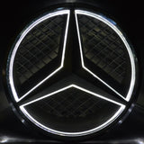 Mercedes benz Led Badge Emblem  Light Car Star Logo Front Grill (Black 2011-2019)