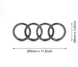 Audi Led Emblem Logo Front Grill Illuminated Glow Light Badge Black Q5 Q3 Q2 A6 A7 A8