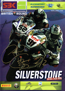 Cal Crutchlow - 2010 World Superbike Signed Programme