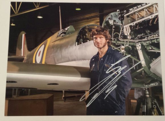 Guy Martin - Spitfire 2 - Speed - 16 x 12 Autographed Picture