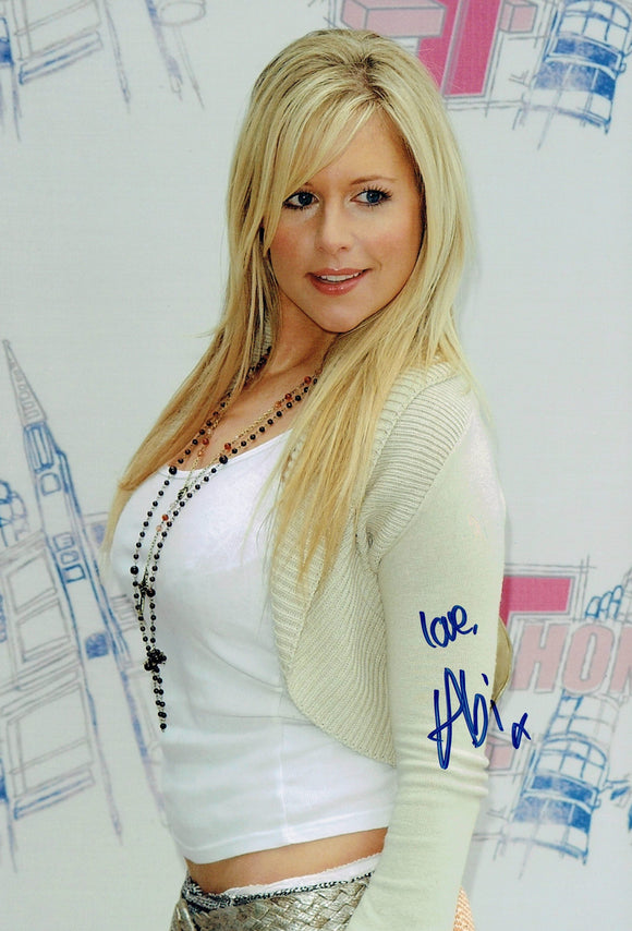 Abi Titmuss - Glamour Model - 12 x 8 Autographed Picture