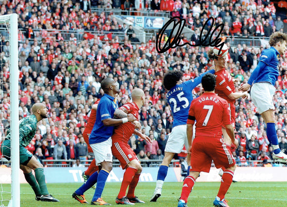 Andy Carroll - Liverpool - 16 x 12 Autographed Picture