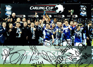 Birmingham City - Carling Cup Winners - 16 x 12 Autographed Picture