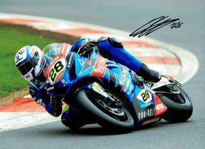 Bradley Ray - British Superbikes - 2018 - 16 x 12 Autographed Picture