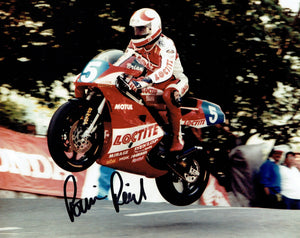 Brian Read - 1993 Junior TT Winner - 10 x 8 Autographed Picture