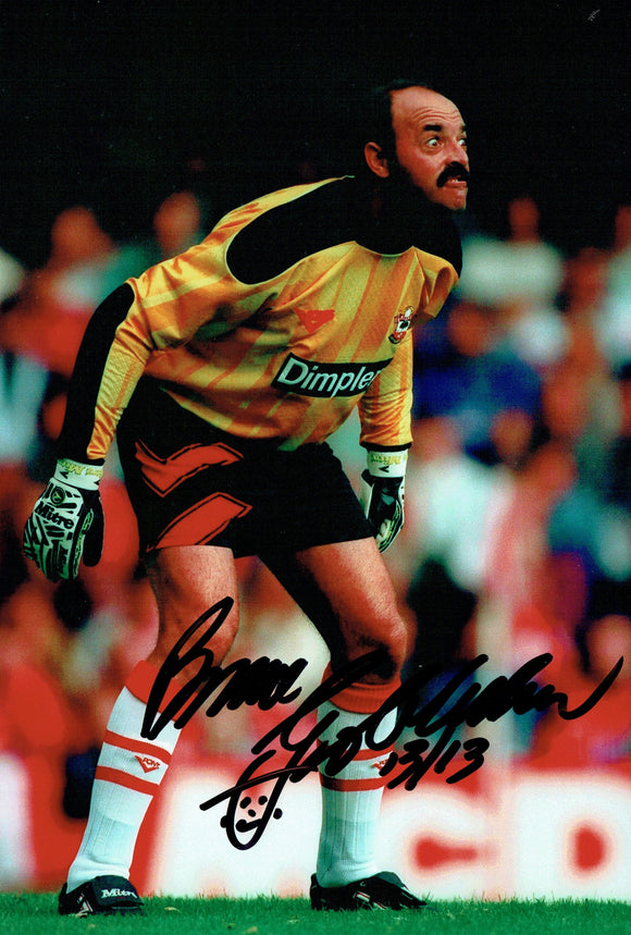 Bruce Grobbelaar - Southampton - 10 x 8 Autographed Picture
