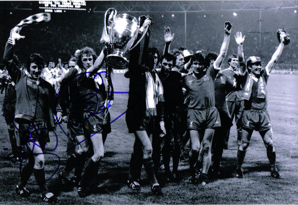 Phil Neal & Jimmy Case - Liverpool F.C. - European Champions - 12 x 8 Autographed Picture