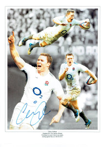 Chris Ashton - England - 16 x 12 Autographed Picture