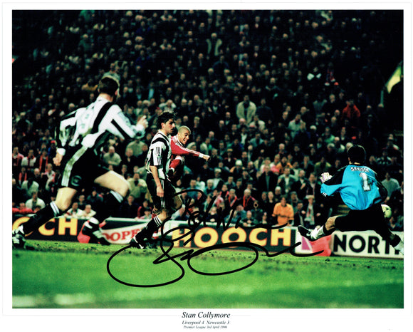 Stan Collymore - Liverpool F.C. - 16 x 12 Autographed Picture