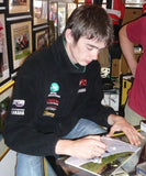 Conor Cummins & Ian Lougher - Creg Ny Baa - TT 2007 - 12 x 8 Autographed Picture