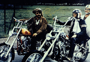Dennis Hopper - Easy Rider - Billy - 12 x 8 Autographed Picture