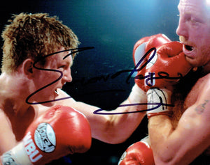 Eamonn Magee - 10 x 8 Autographed Picture