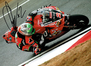 Glenn Irwin - British Superbikes 2018 - 16 x 12 Autographed Picture