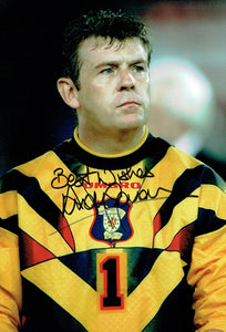 Andy Goram - Scotland - 12 x 8 Autographed Picture