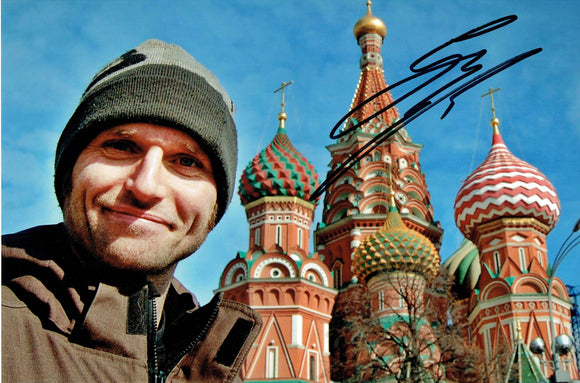 Guy Martin - Red Square - 12 x 8 Autographed Picture