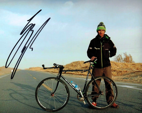 Guy Martin - Bicycle 2 - Our Guy in China - 10 x 8 Autographed Picture