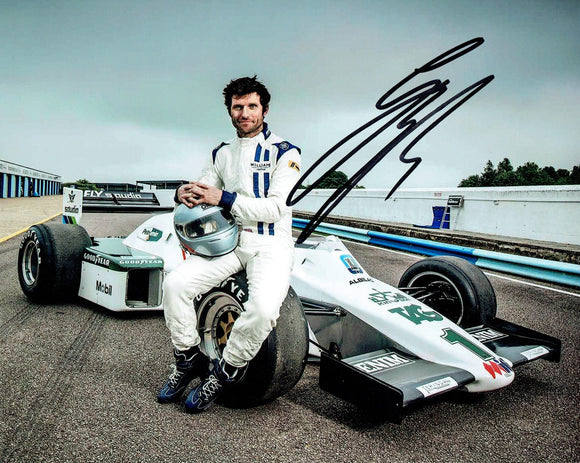 Guy Martin - Classic Formula 1 - 10 x 8 Autographed Picture
