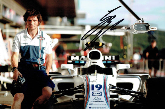 Guy Martin - Williams F1 B - 2017 - 12 x 8 Autographed Picture