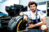 Guy Martin - Williams F1 A - 2017 - 12 x 8 Autographed Picture