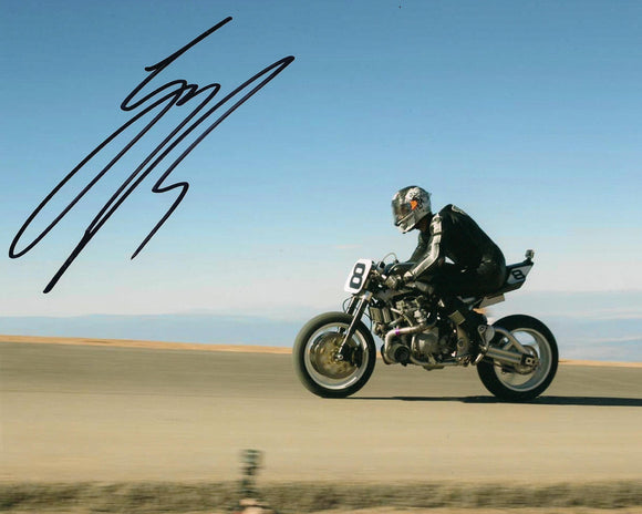 Guy Martin - Pikes Peak 5 - 2014 - 10 x 8 Autographed Picture