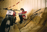Guy Martin - Wall of Death 3 - 12 x 8 Autographed Picture