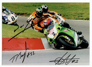 Hodgson / Bayliss / Walker - World Superbikes - 16 x 12 Autographed Picture