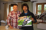 Guy Martin - Union Mills - TT 2015 - 16 x 12 Autographed Picture